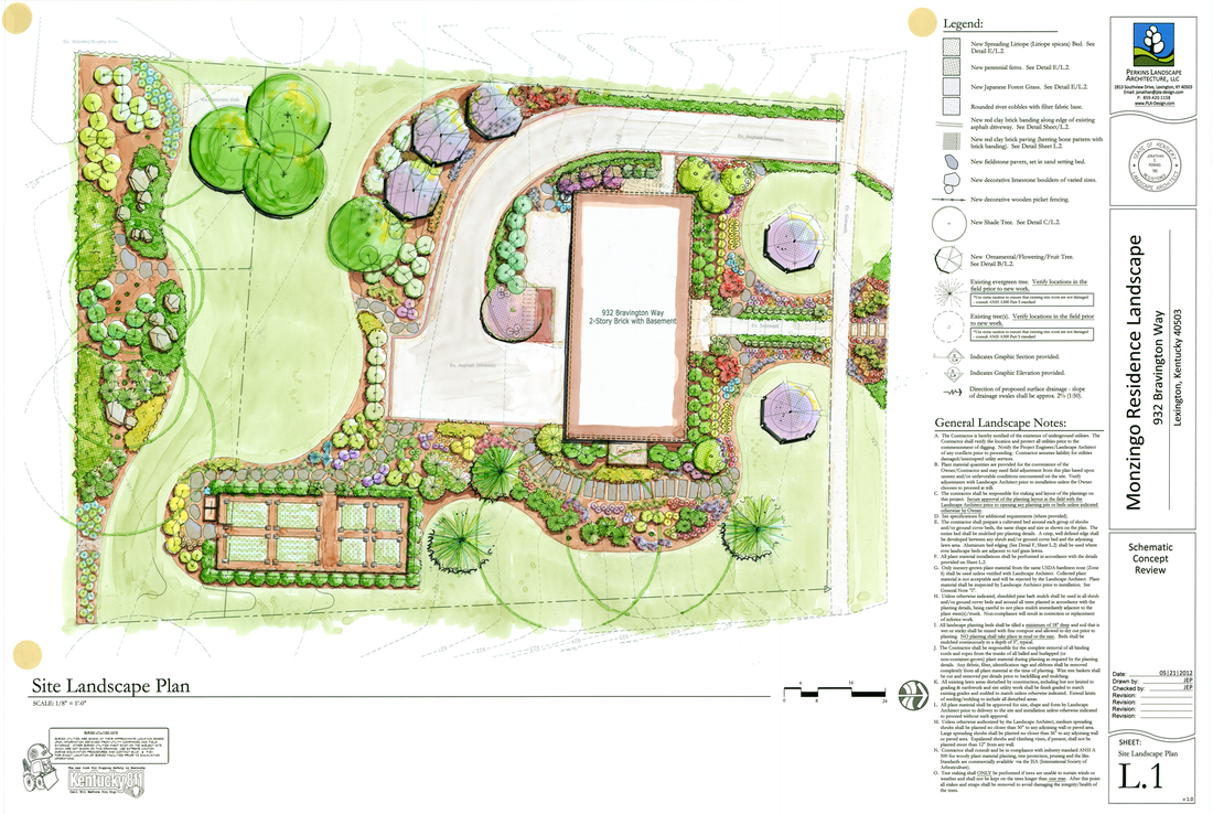 Schematic site plan landscape architecture schematic get for Residential landscape plan