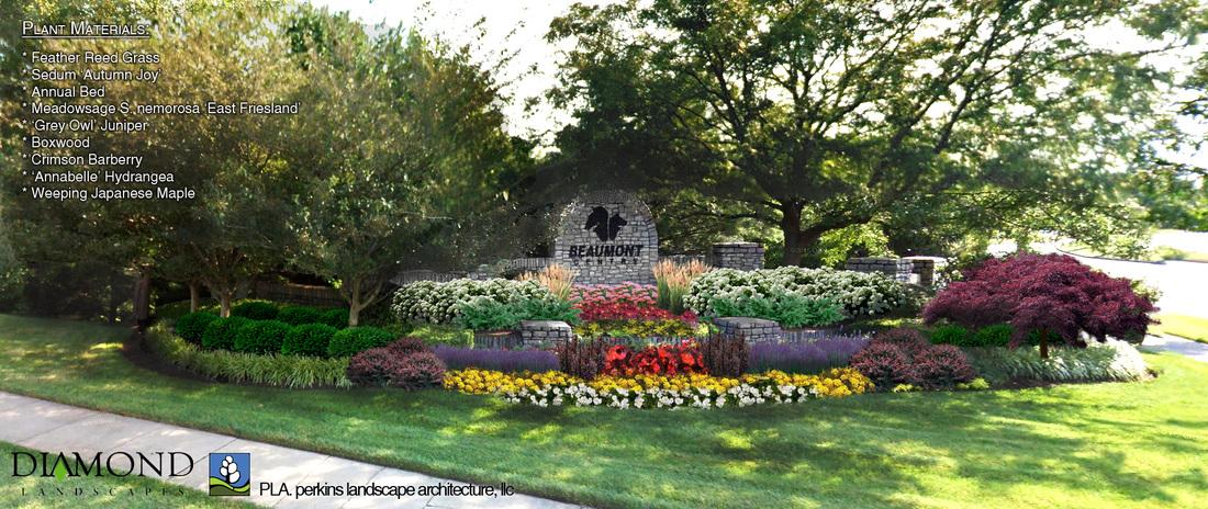 Townhomes at Hamburg Pavilion - Conceptual Design & Modeling - Lexington,  Kentucky - Commercial Design - Perkins Landscape Architecture, LLC